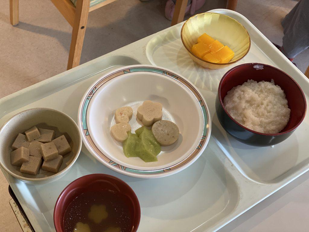 【西4】ある日の昼食🌸